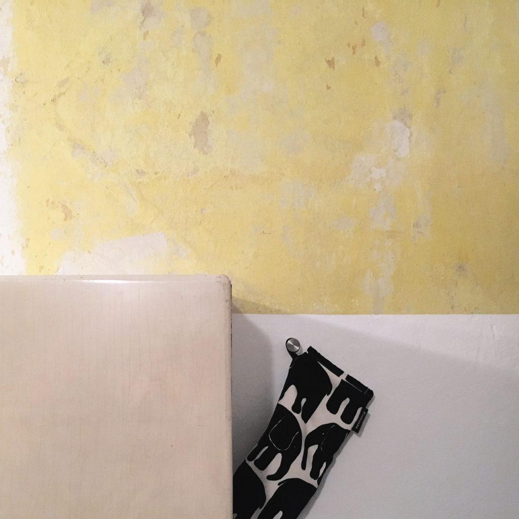 Restaurierung Leimfarbe - Küche